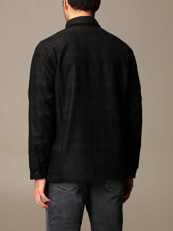 Camisa Department 5: Americana hombre Department 5 negro 2