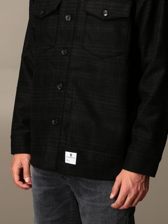 Camisa Department 5: Americana hombre Department 5 negro 3