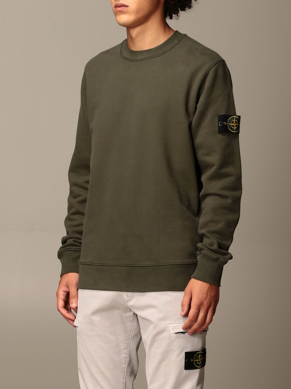 Sweatshirt Stone Island: Sweatshirt men Stone Island military 4