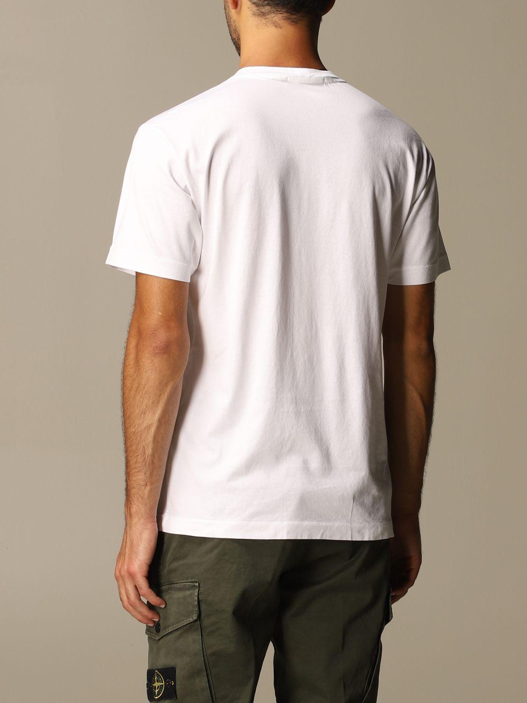T-shirt Stone Island: T-shirt men Stone Island white 3