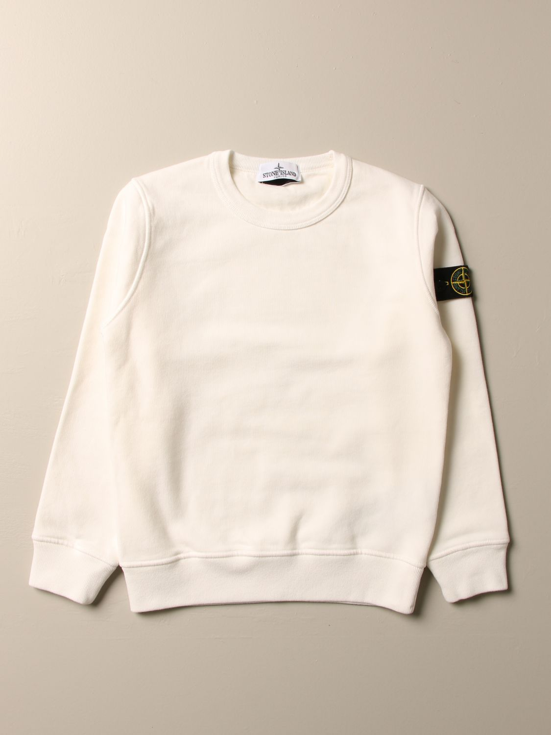Jumper Stone Island Junior: Sweatshirt men Stone Island Junior white 1