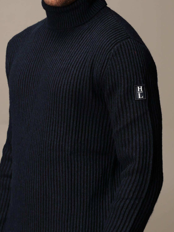 毛衣 Henri Lloyd: Henri Lloyd 罗纹羊毛高领衫 海军蓝 3