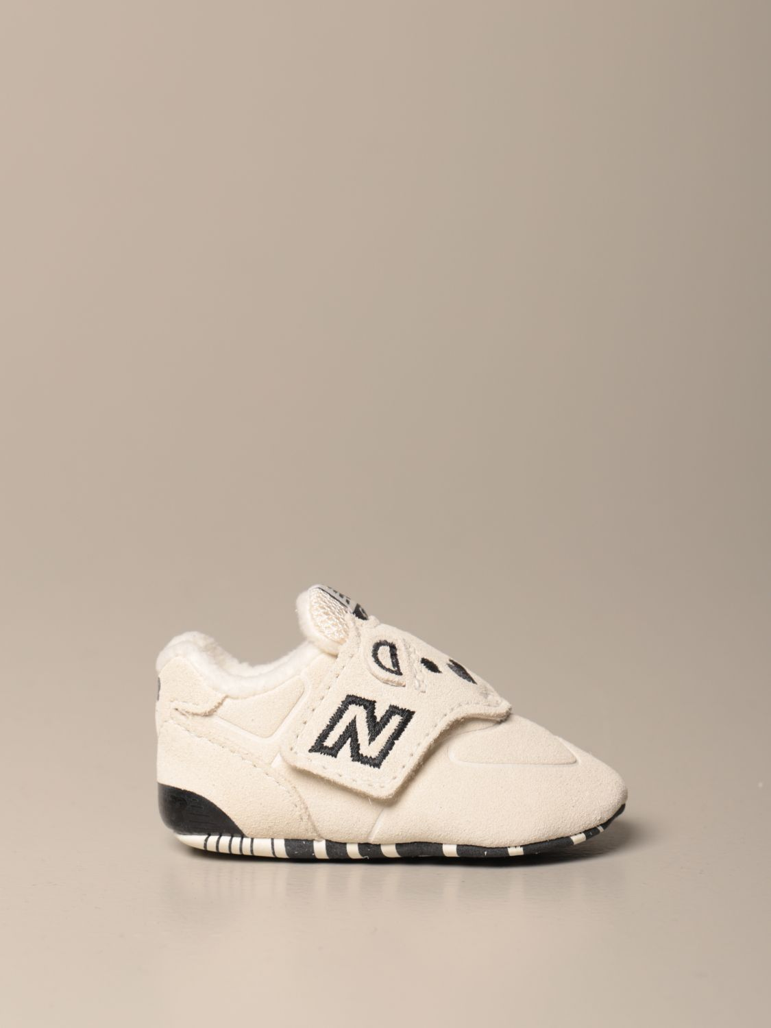 Shoes New Balance: New Balance 574 Classic Crib crib shoes white 1