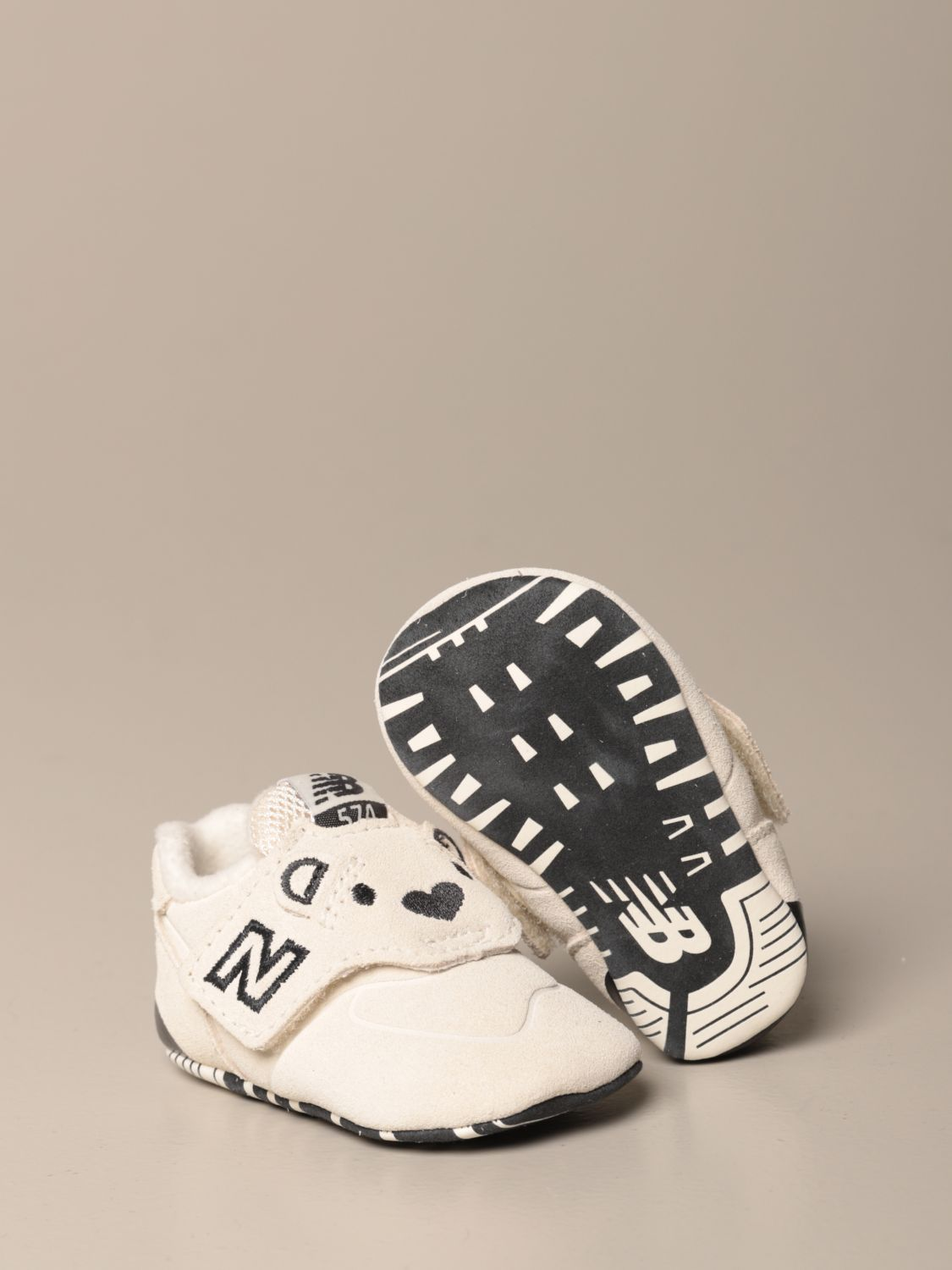 Shoes New Balance: New Balance 574 Classic Crib crib shoes white 2