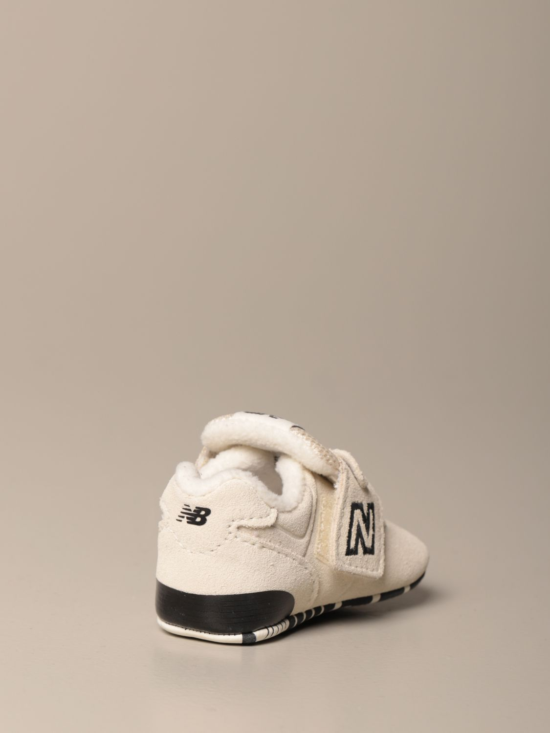 Shoes New Balance: New Balance 574 Classic Crib crib shoes white 3
