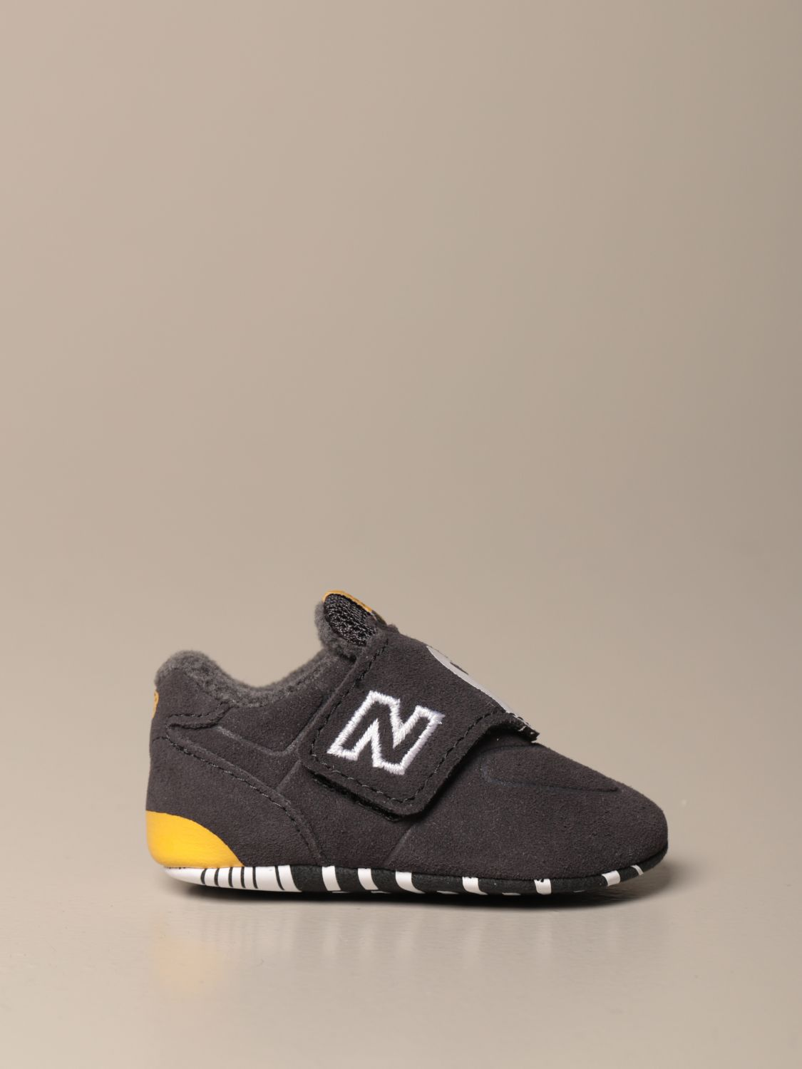 Shoes New Balance: New Balance 574 Classic Crib crib shoes grey 1