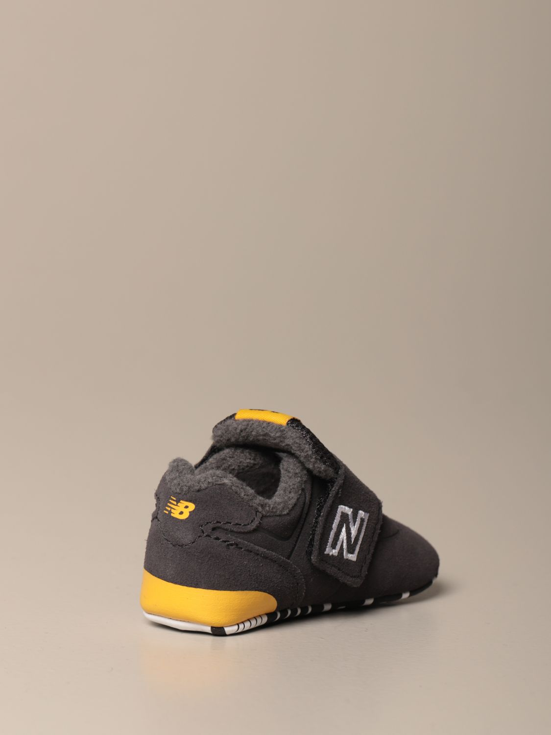 Shoes New Balance: New Balance 574 Classic Crib crib shoes grey 3