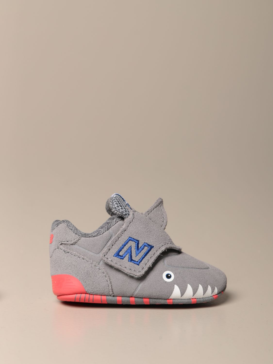 Shoes New Balance: New Balance 574 Classic Crib shoes grey 1