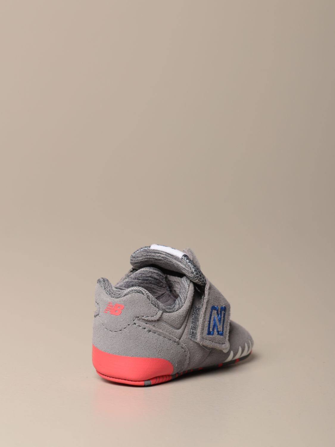 Shoes New Balance: New Balance 574 Classic Crib shoes grey 3