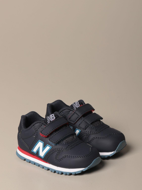 Sneakers 500 New Balance in pelle sintetica e mesh