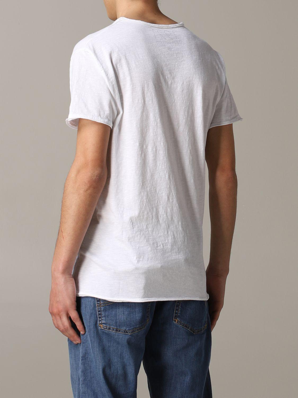 T-shirt 1921: T-shirt 1921 a maniche corte con stampa Nasa bianco 3