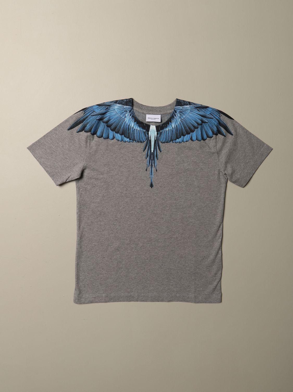 Camiseta Marcelo Burlon: Camiseta niños Marcelo Burlon gris 1