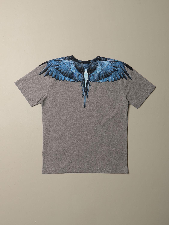 Camiseta Marcelo Burlon: Camiseta niños Marcelo Burlon gris 2