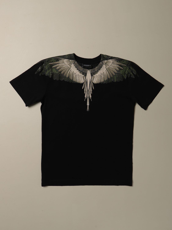 Camiseta Marcelo Burlon: Camiseta niños Marcelo Burlon negro 1