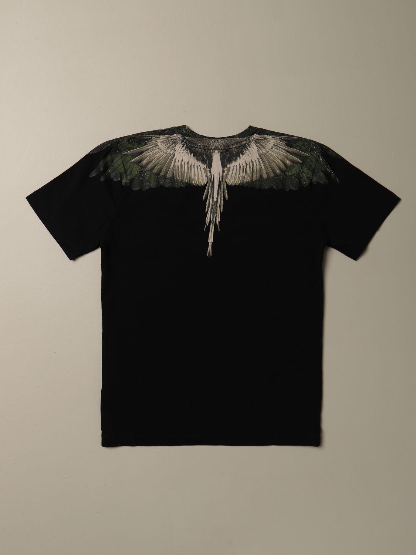 Camiseta Marcelo Burlon: Camiseta niños Marcelo Burlon negro 2