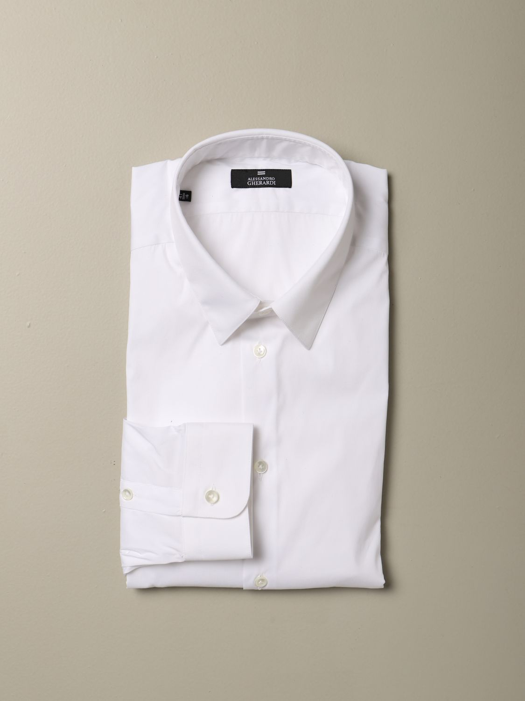 Camisa Alessandro Gherardi: Camisa hombre Alessandro Gherardi blanco 1