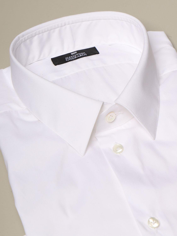 Рубашка Alessandro Gherardi: Рубашка Мужское Alessandro Gherardi белый 2
