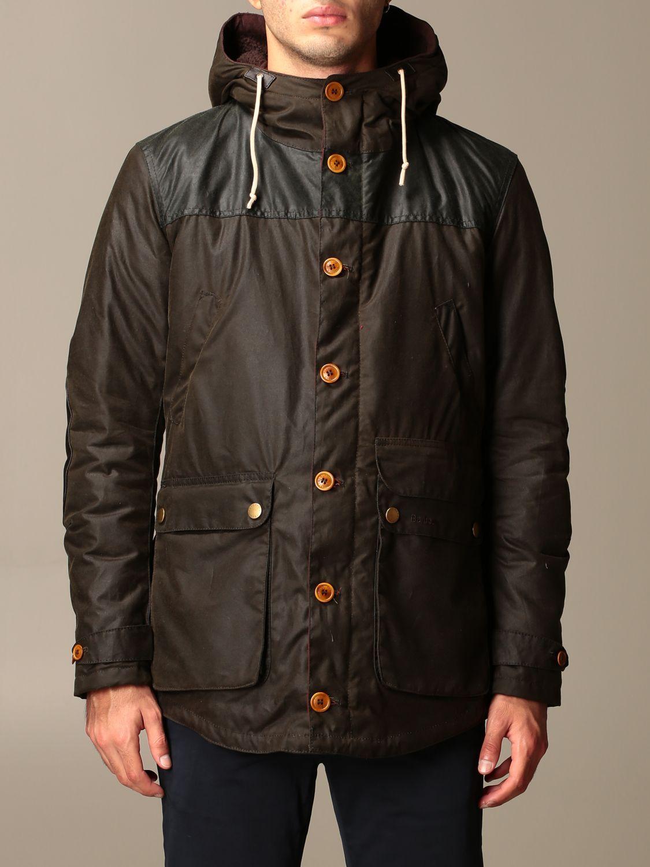 Jacket Barbour: Game Barbour hooded parka olive 1