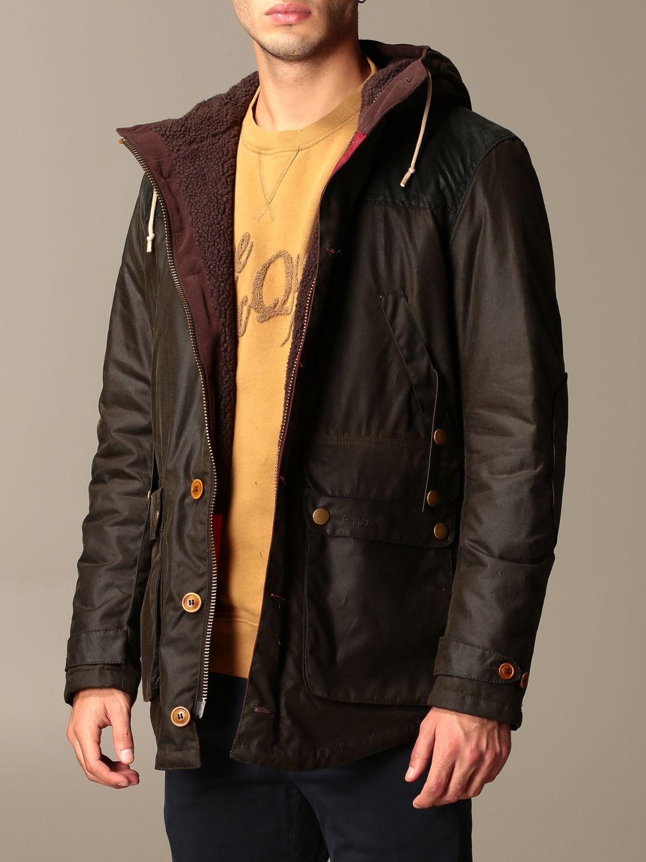 Jacket Barbour: Game Barbour hooded parka olive 3