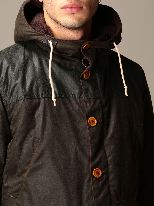 Jacket Barbour: Game Barbour hooded parka olive 4