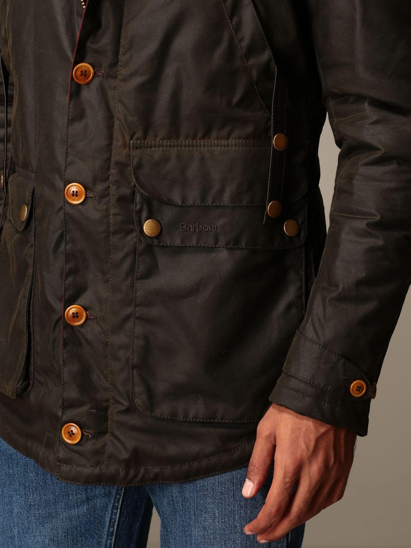 Jacket Barbour: Game Barbour hooded parka olive 5