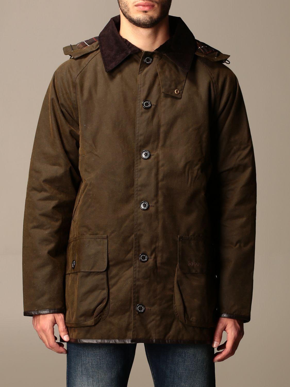 Jacket Barbour: Longhurst Barbour jacket with velvet collar olive 1