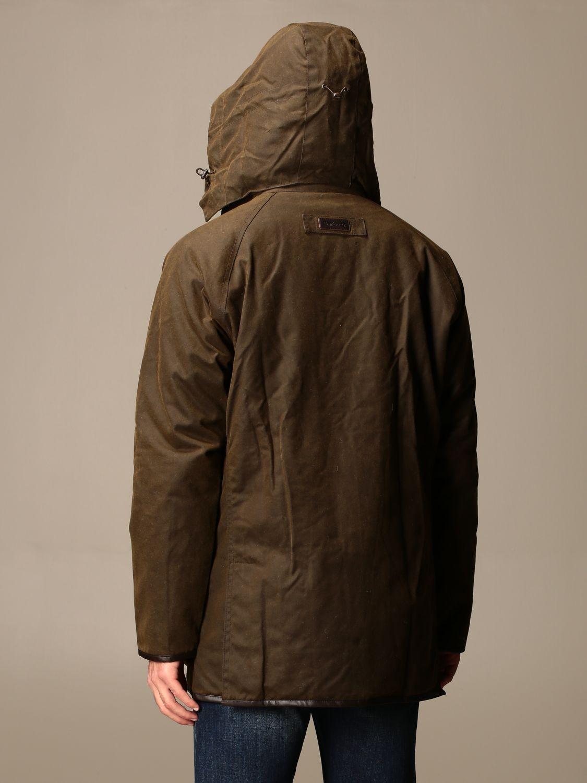 Jacket Barbour: Longhurst Barbour jacket with velvet collar olive 2
