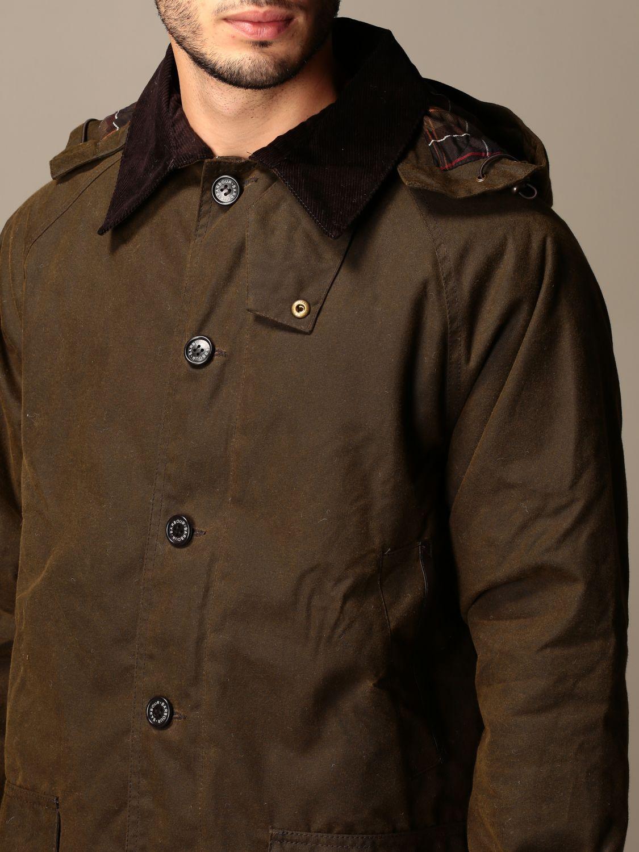 Jacket Barbour: Longhurst Barbour jacket with velvet collar olive 3