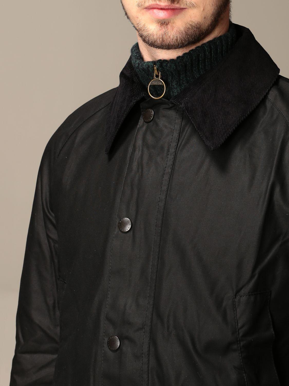 Jacket Barbour: Jacket men Barbour black 4
