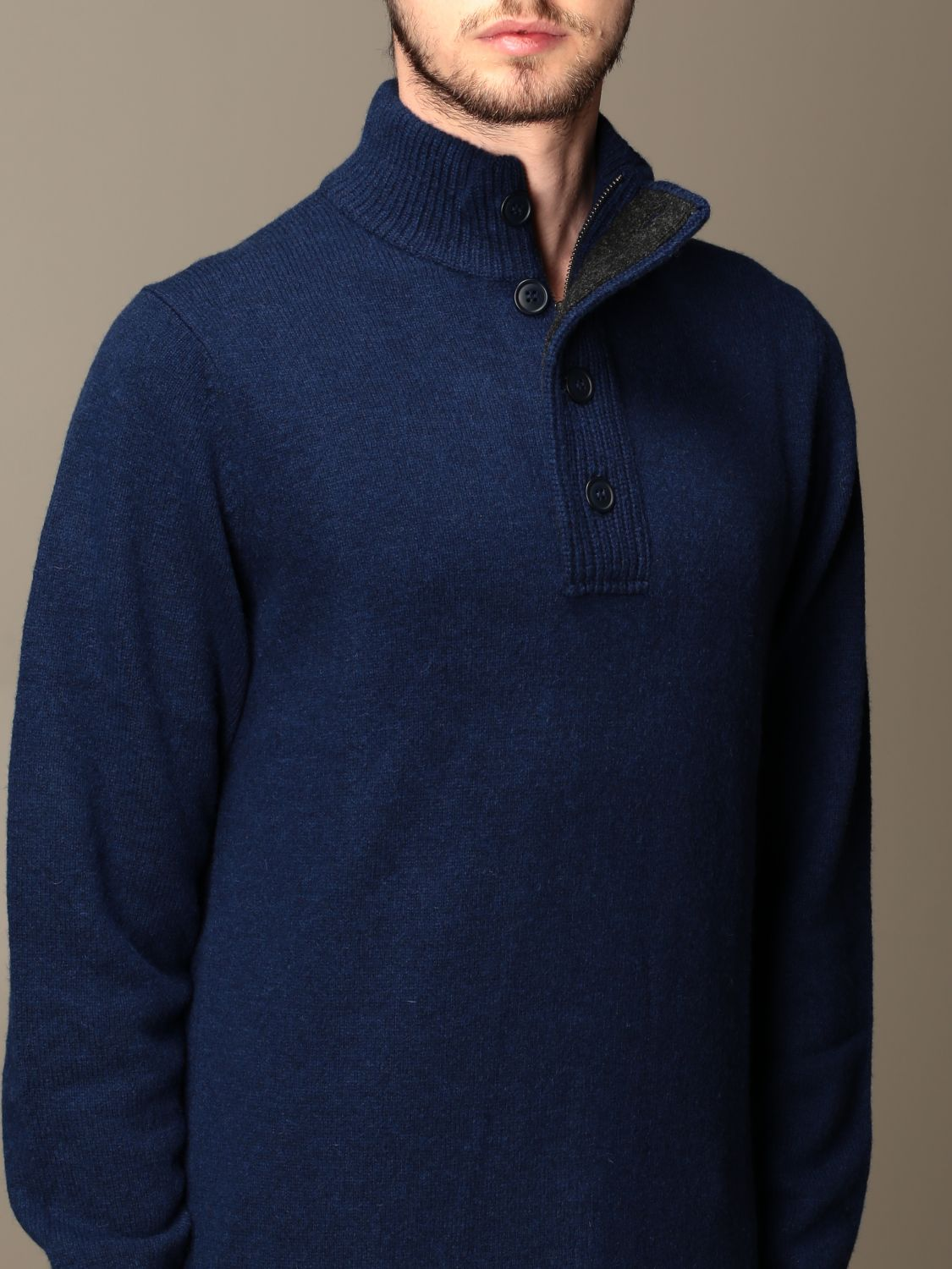 Pull Barbour: Pull homme Barbour bleu 3