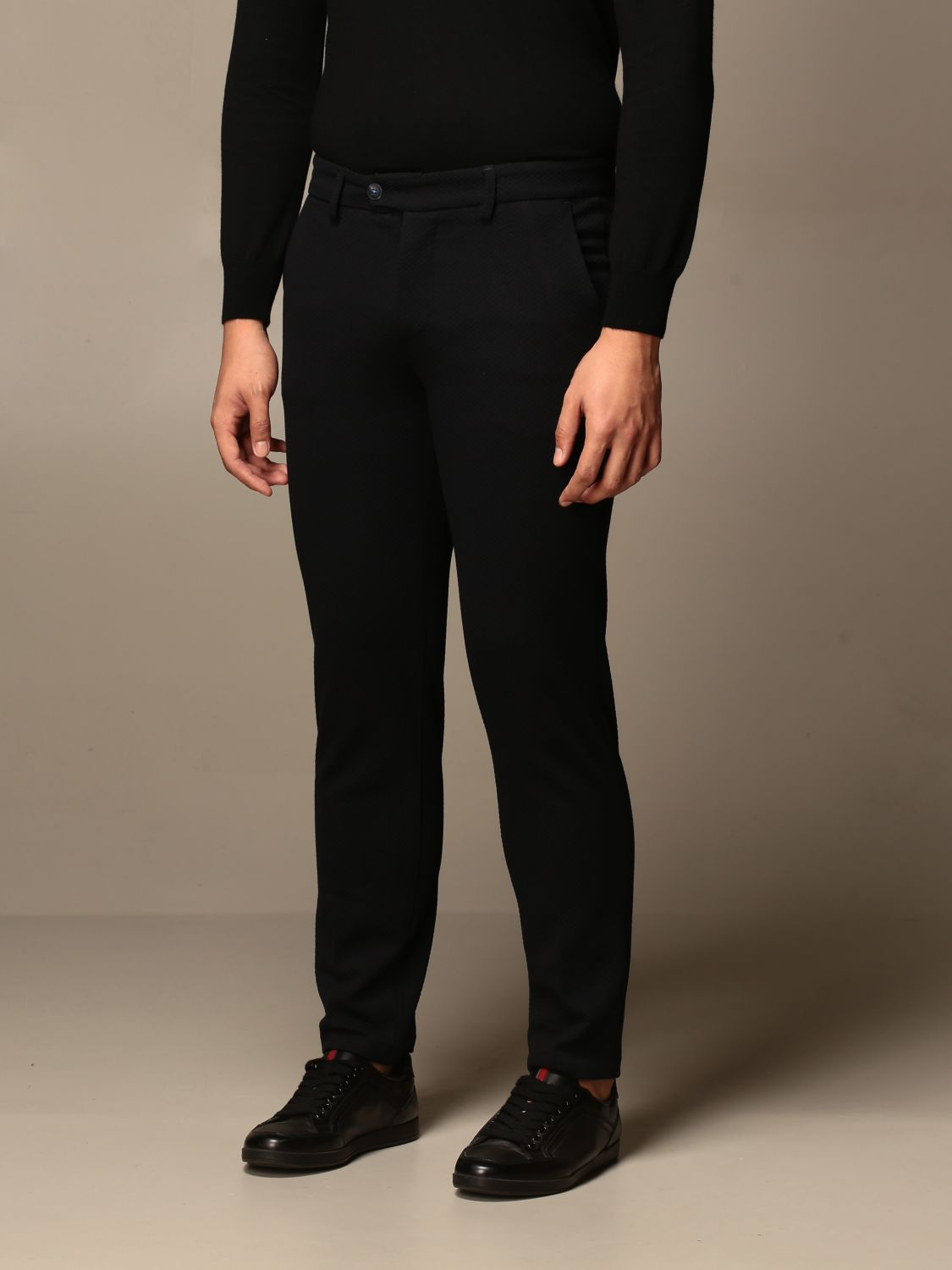 Trousers Baronio: Trousers men Baronio blue 3