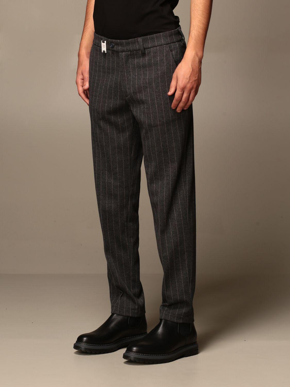 Pantalon Baronio: Pantalon homme Baronio anthracite 3