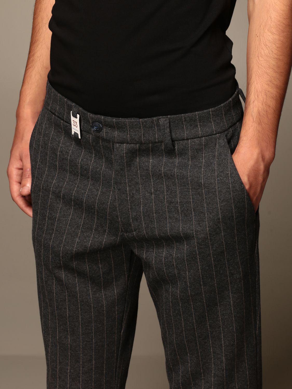 Pantalon Baronio: Pantalon homme Baronio anthracite 4