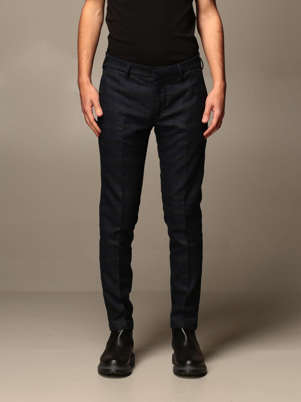 Pantalone Baronio: Pantalone baroni a fantasia Principe di Galles blue 1
