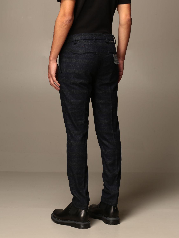 Pantalone Baronio: Pantalone baroni a fantasia Principe di Galles blue 2