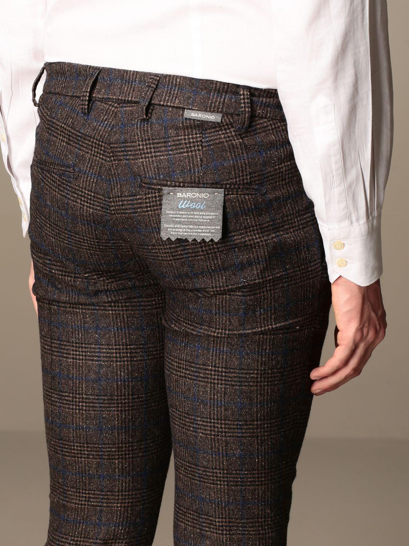 Trousers Baronio: Trousers men Baronio dark 3