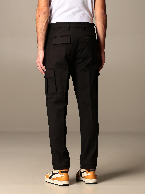 Pants Baronio: Baronio trousers with kargo pockets black 2