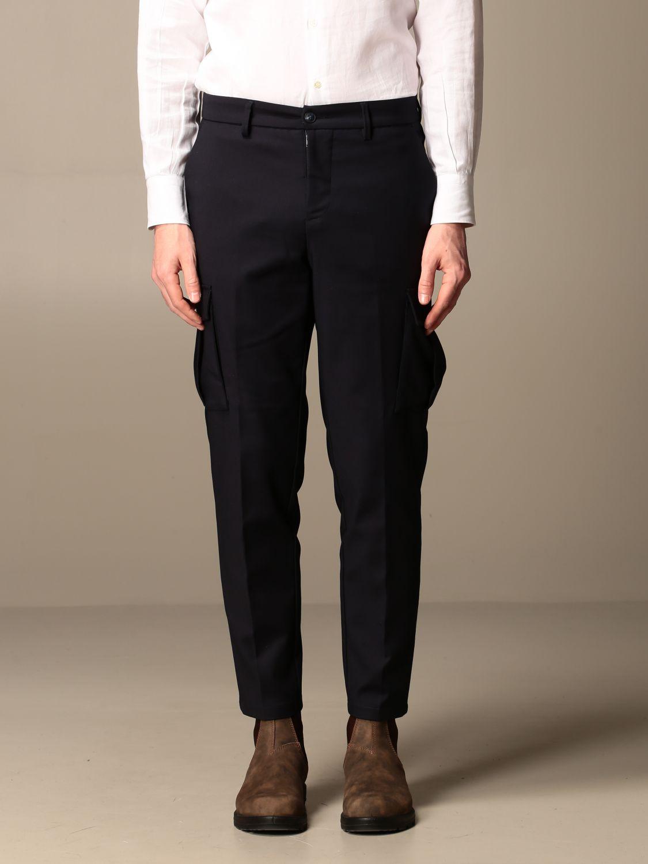 Trousers Baronio: Trousers men Baronio blue 1