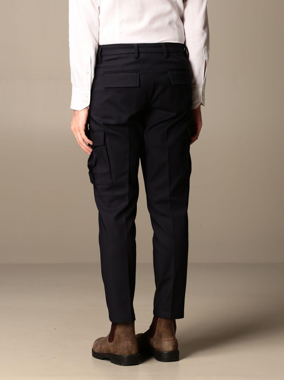 Trousers Baronio: Trousers men Baronio blue 2