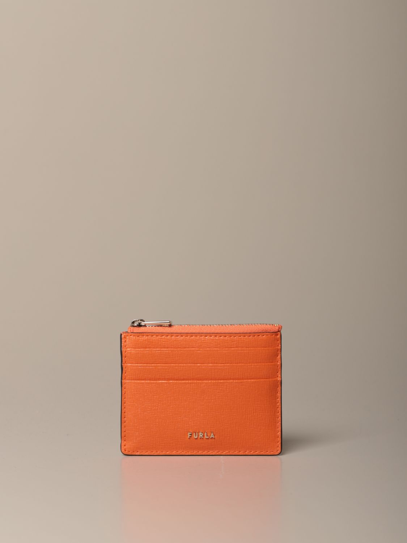 Maletín Furla: Maletín mujer Furla naranja 1