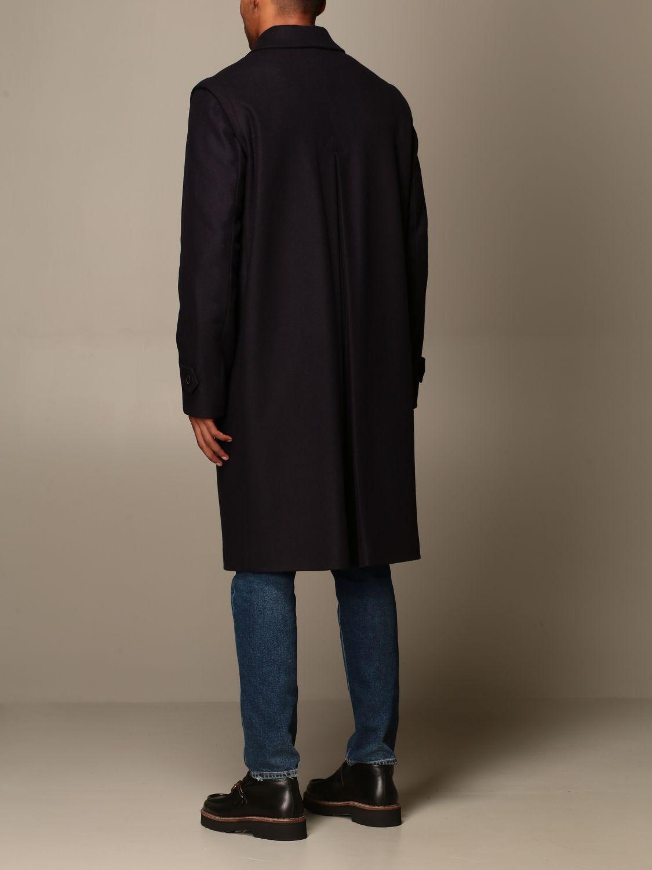 Пальто Grifoni: Пальто Мужское Grifoni синий 3