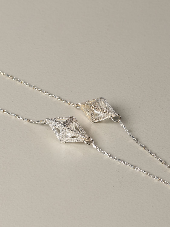 Gioielli Rockyourmind: Collana Prism line rhombus Rockyourmind rosa 2