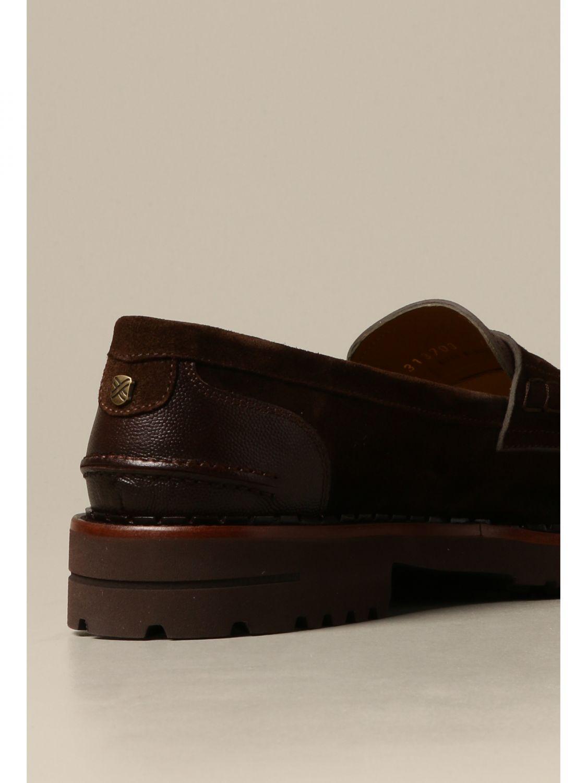 Loafers Brimarts: Brimarts slip on moccasin in suede dark 3