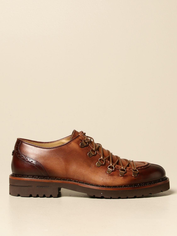 Brogue shoes Brimarts: Brimarts lace-up shoe in vintage leather leather 1