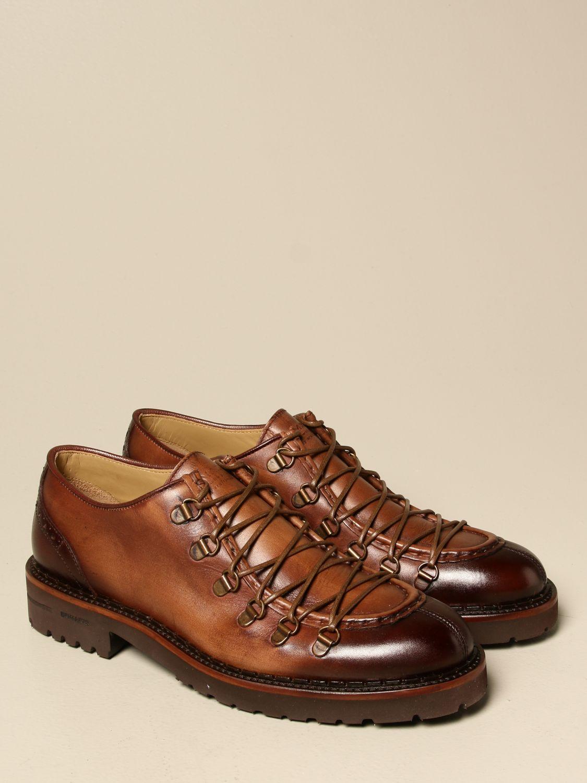 Brogue shoes Brimarts: Brimarts lace-up shoe in vintage leather leather 2