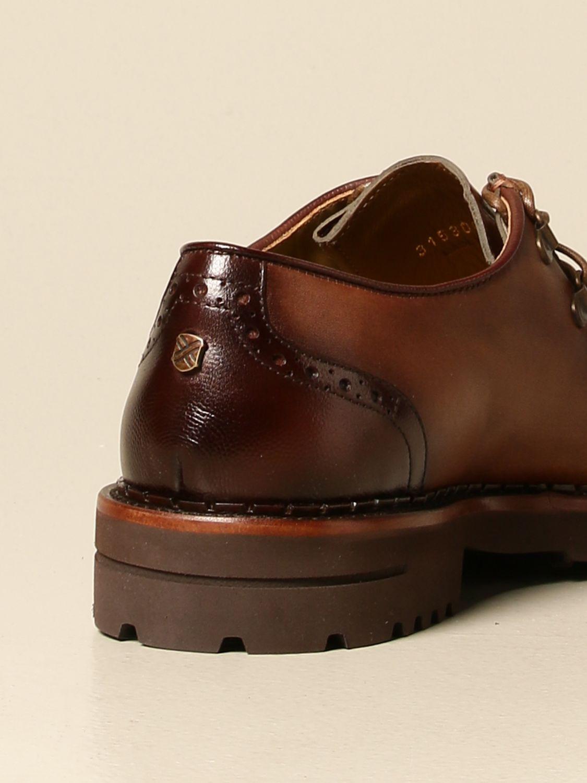 Brogue shoes Brimarts: Brimarts lace-up shoe in vintage leather leather 3