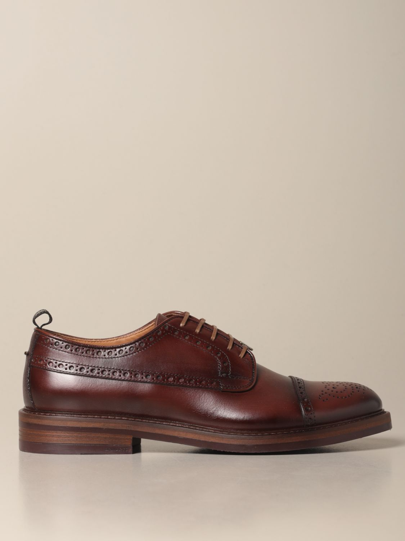 Brogue shoes Brimarts: Brimarts derby in vintage leather brown 1