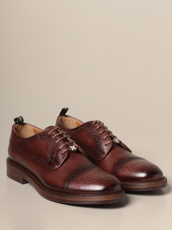 Brogue shoes Brimarts: Brimarts derby in vintage leather brown 2