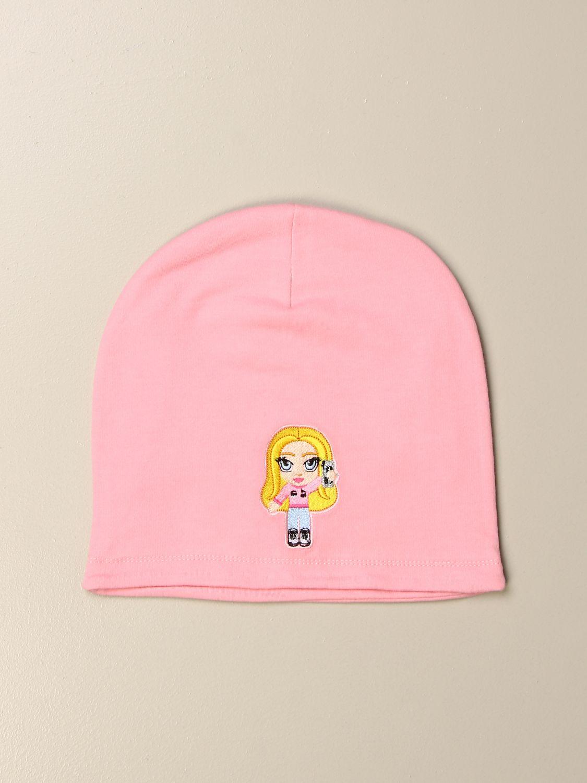 Hat girl Chiara Ferragni: Hat girl kids Chiara Ferragni pink 1