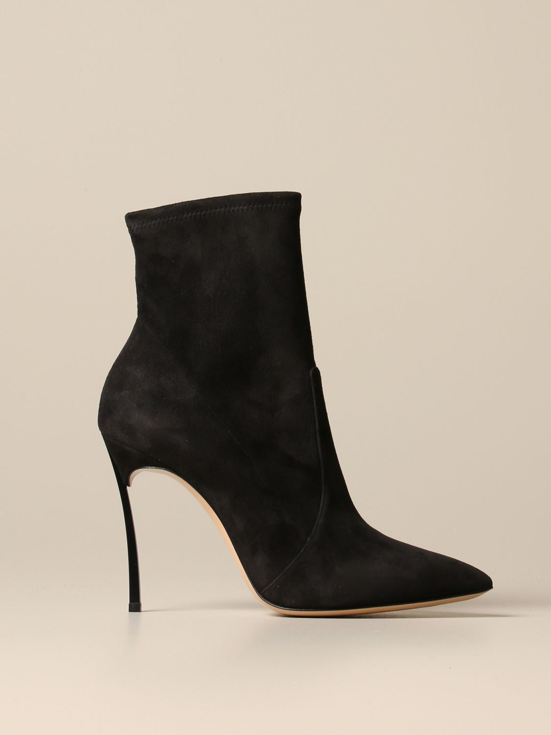 Heeled ankle boots Casadei: Shoes women Casadei black 1